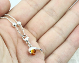 Baltic Amber Charm , direct from Poland RN414