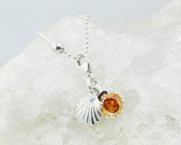 Baltic Amber Charm , direct from Poland RN426