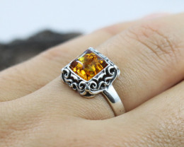 Baltic Amber Ring, direct from Poland RN471