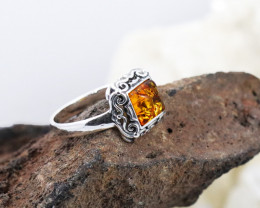 Baltic Amber Ring, direct from Poland RN472