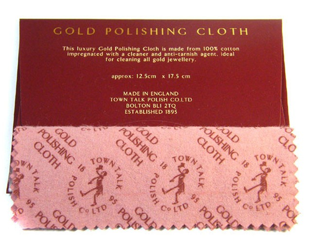gold polishing cloth  silver cloth for silver jewelry