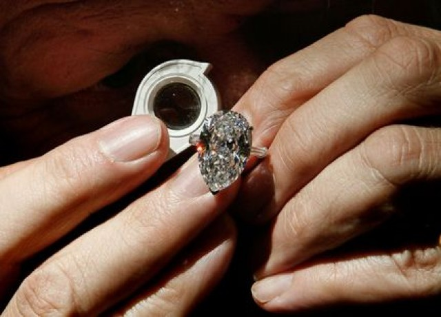 Jacqueline Kennedy Onassis engagement ring