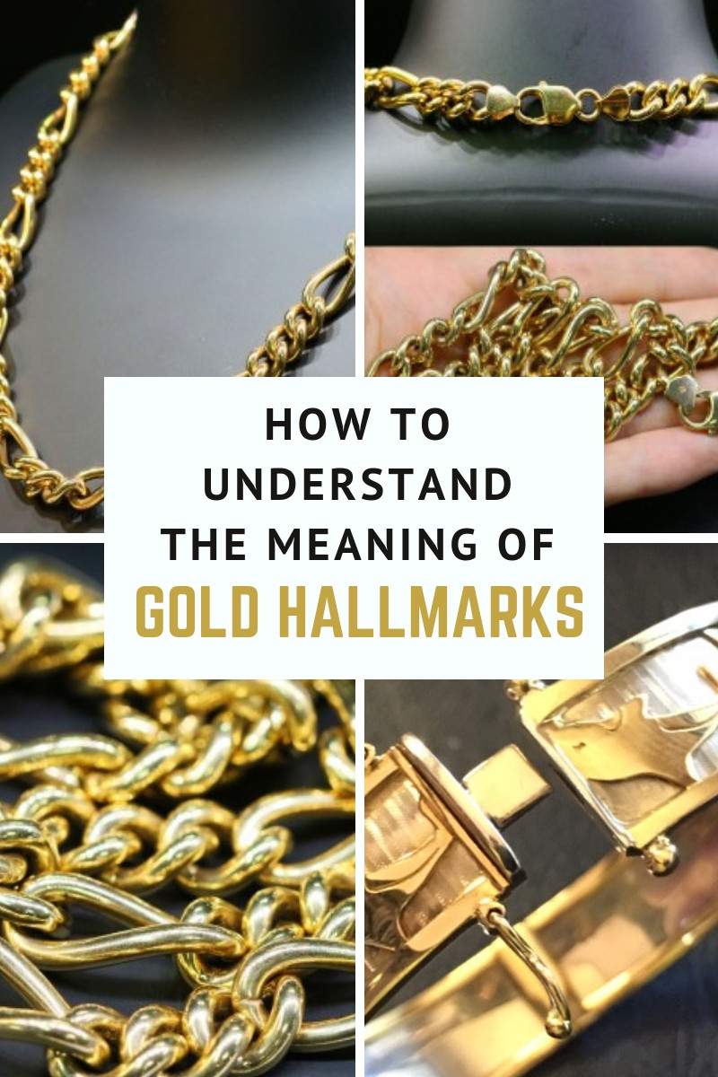 How to understand the meaning of gold hallmarks