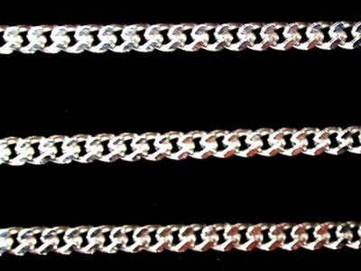 Popular Types of Necklace Chains - Curb Chain