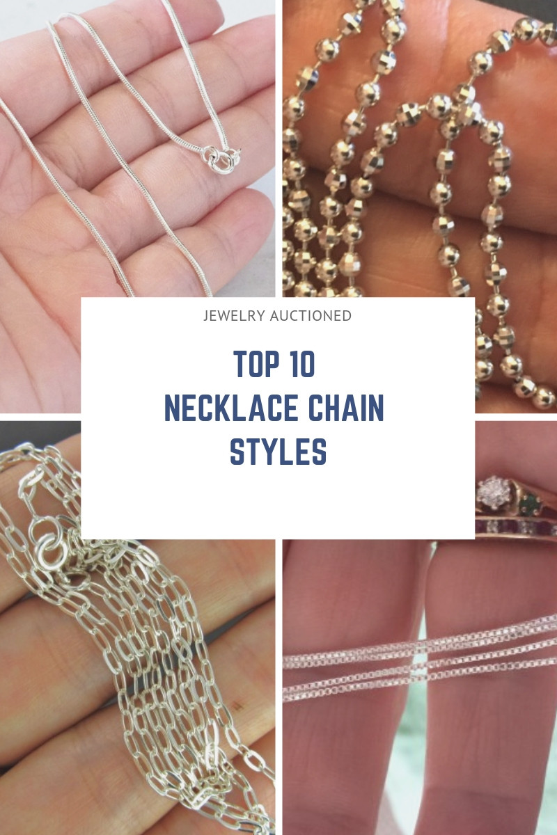 Popular Types of Necklace Chains