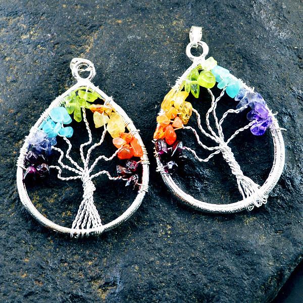 tree of life gemstone jewelry