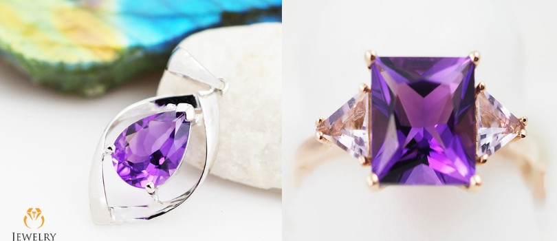 6th year anniversary amethyst jewelry