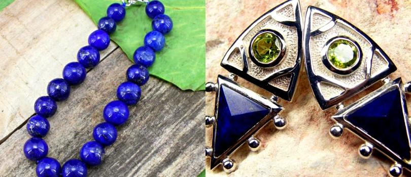 9th year anniversary lapis lazuli jewelry