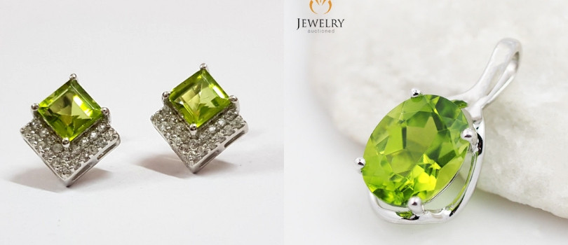 peridot jewelry 18th year anniversary