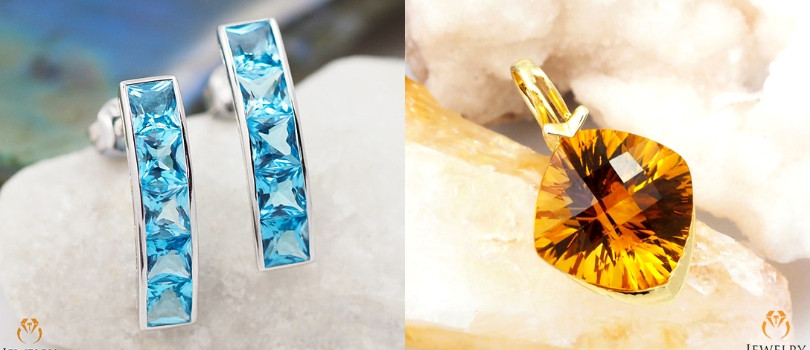 topaz and citrine November Birthstone