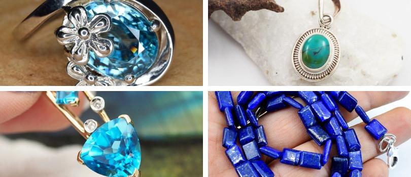 december birthstones - zircon turquoise topaz lapis lazuli