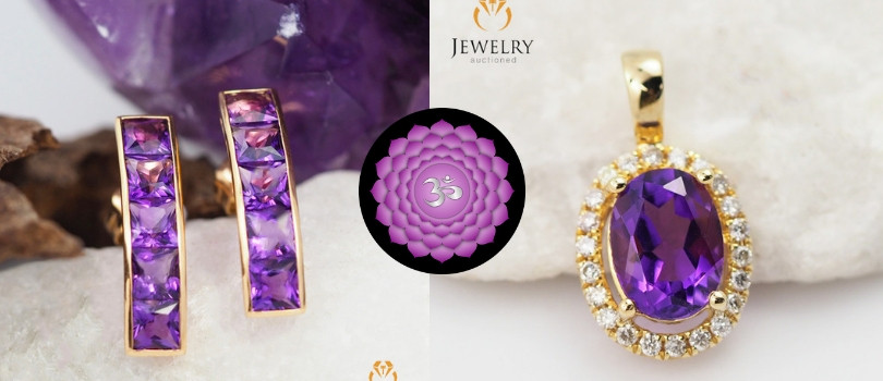 7th chakra gemstone jewelry