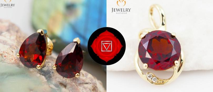 1st chakra gemstone jewelry