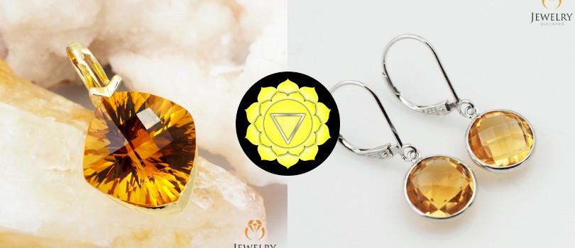 3rd chakra gemstone jewelry
