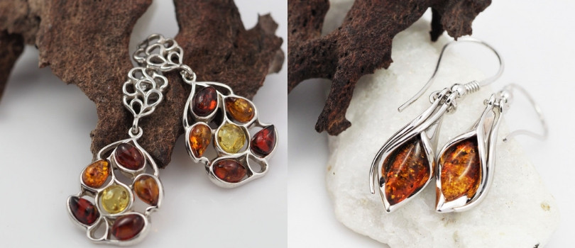what is your favourite gemstone earrings Amber earrings