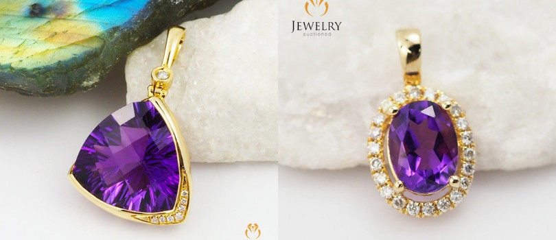 amethyst pendant - what is your favourite gemstone pendant