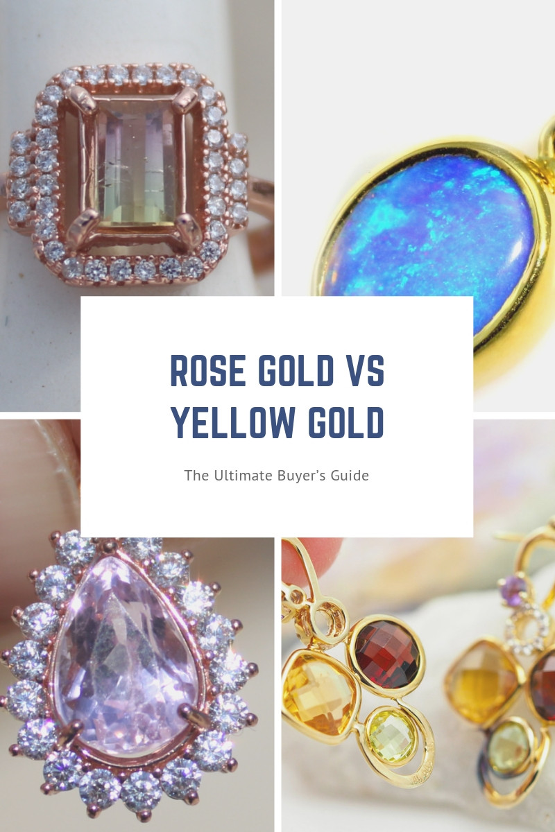 Rose Gold vs Yellow Gold - The Ultimate Buyers Guide