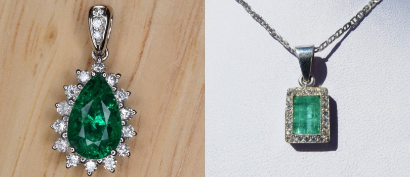 emerald pendant - what is your favourite gemstone pendant