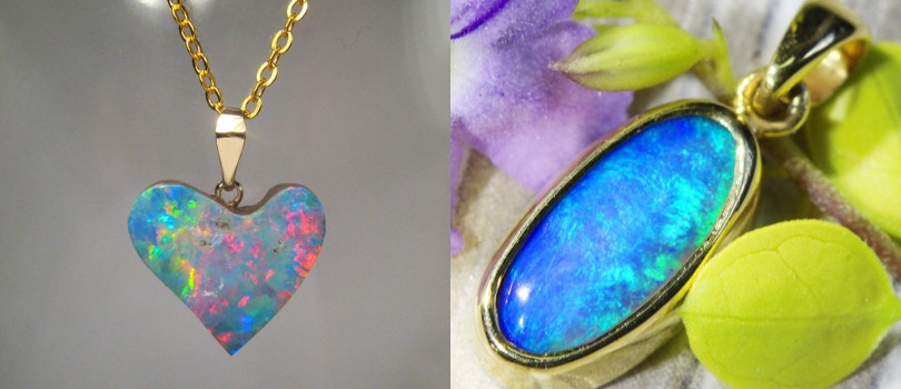 opal pendant - what is your favourite gemstone pendant