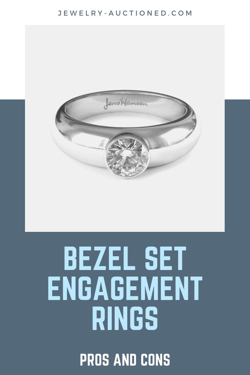 Bezel Engagement Ring Setting - Pros and Cons