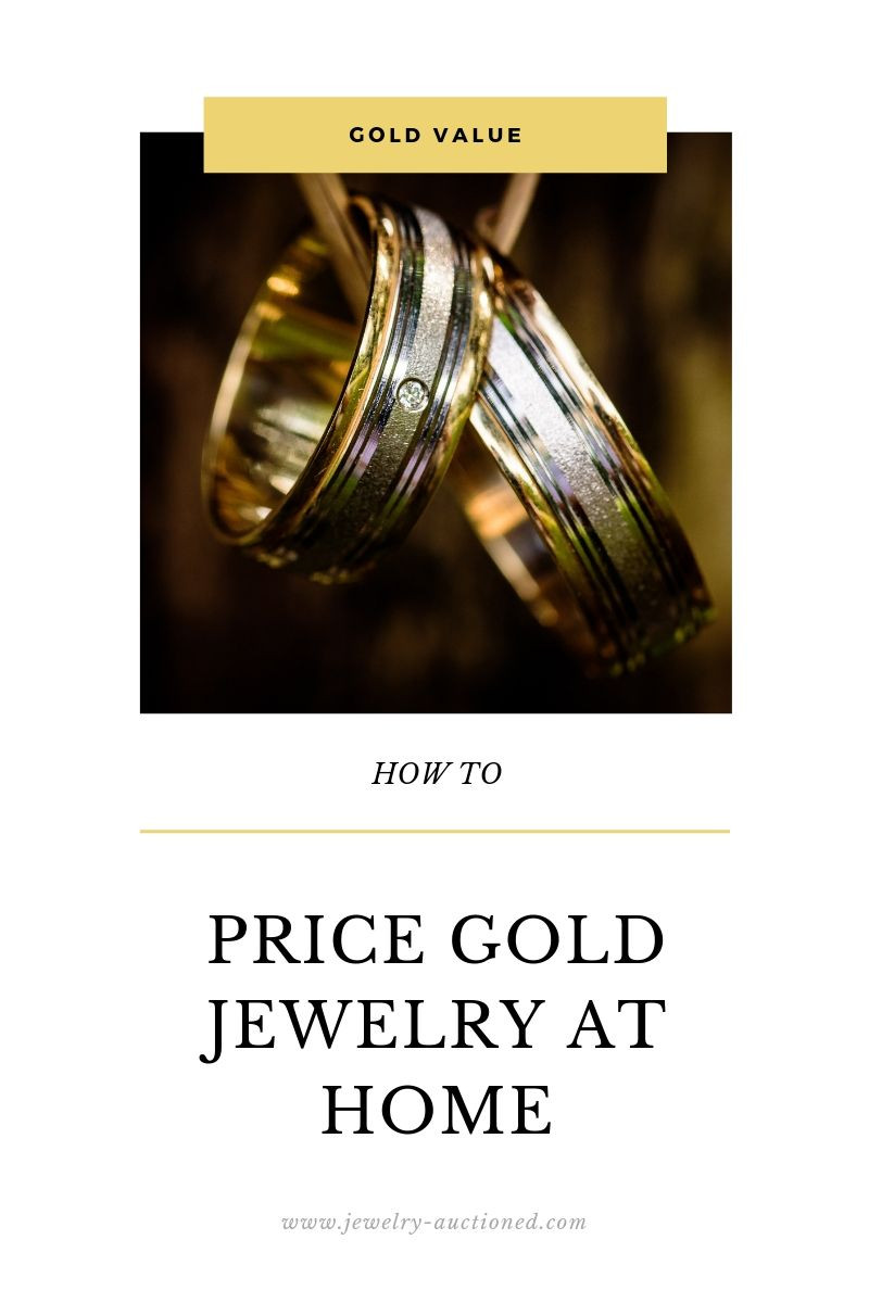 A Guide For Pricing Gold Jewelry At Home