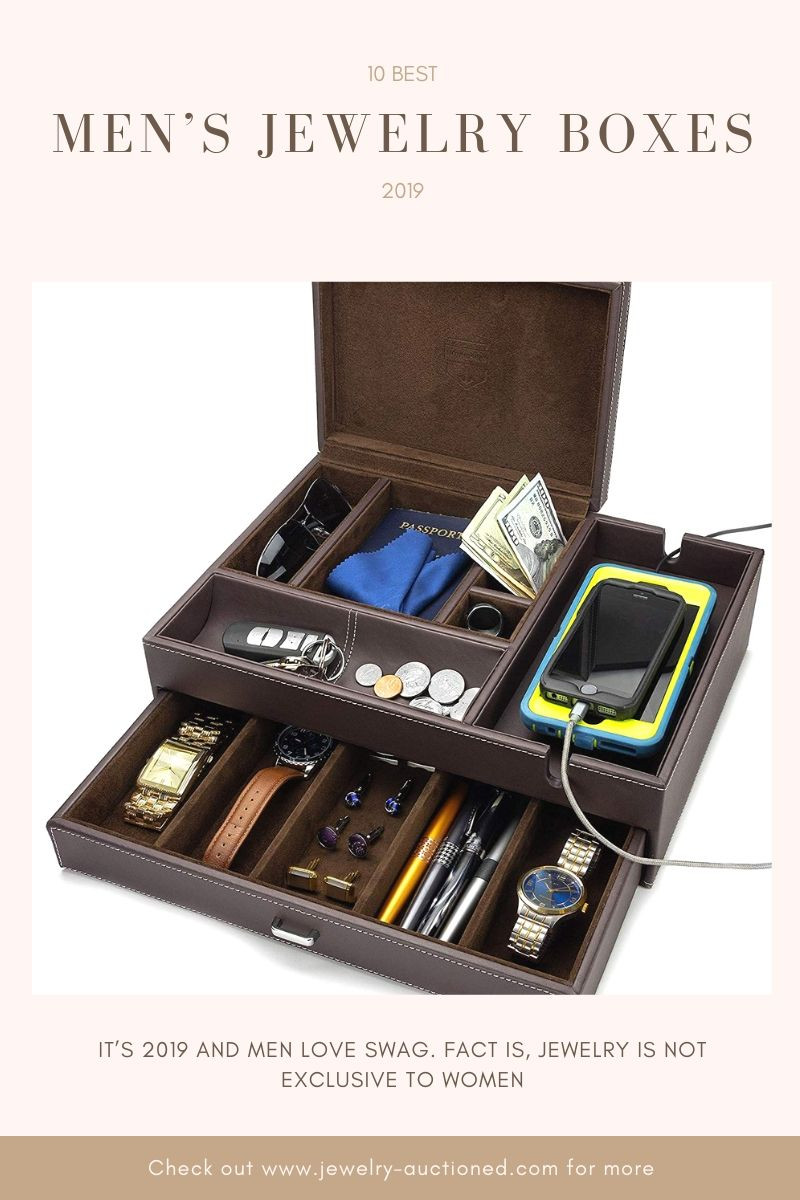10 Best Mens Jewelry Boxes 2019