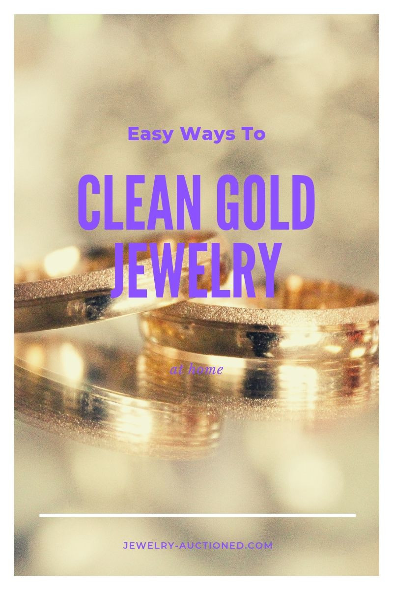 Easy Ways To Clean Gold Jewelry at Home