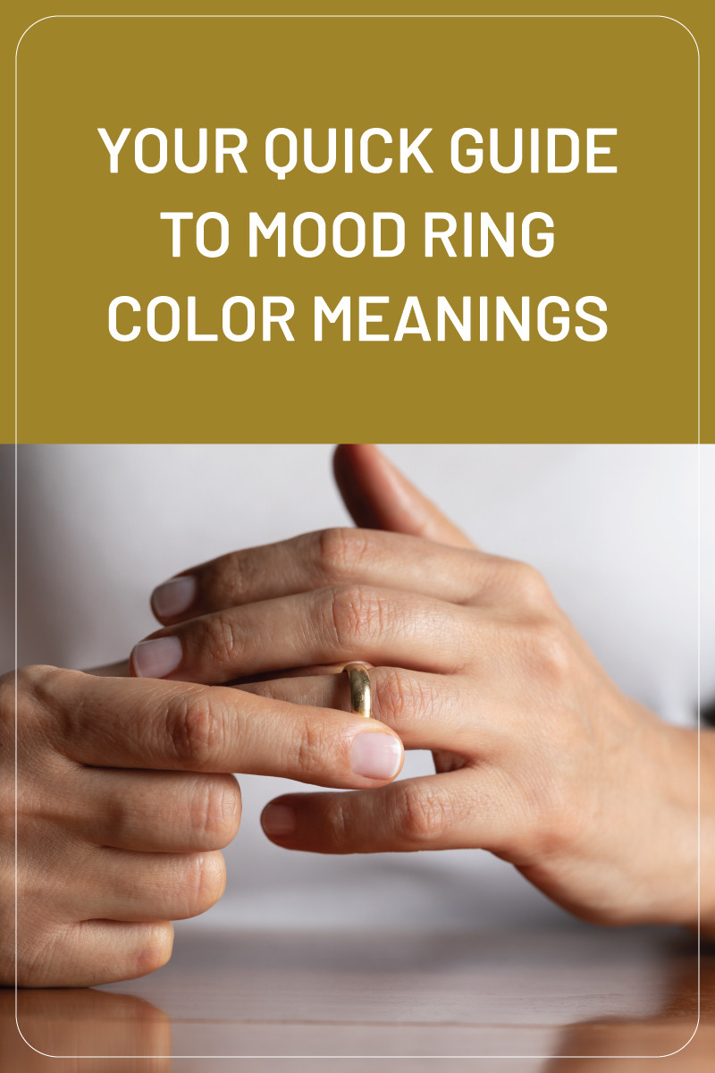 A Guide To Mood Ring Color Meanings