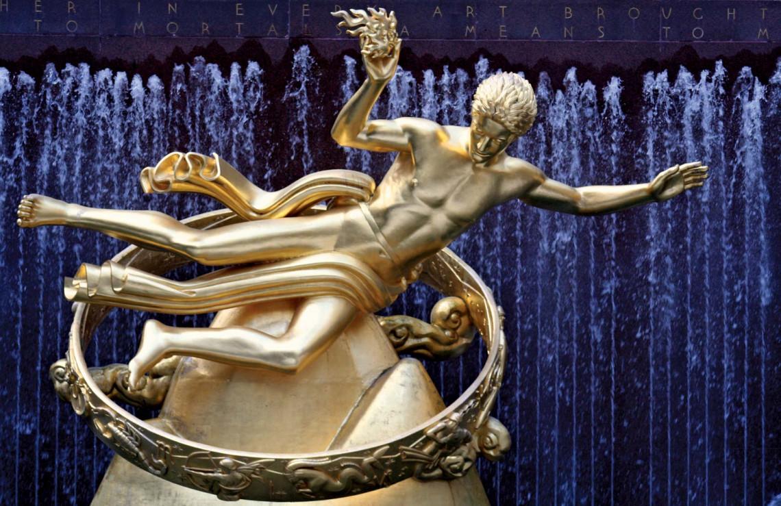 Prometheus by Paul Manship