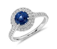Double Halo Engagement Rings