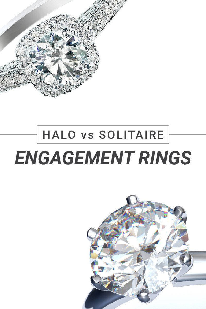 Halo vs Solitaire Engagement Rings How To Choose Your Forever Ring