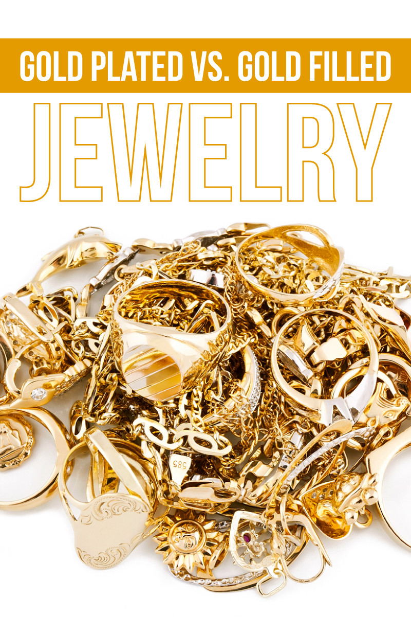 gold plated vs. gold filled jewelry
