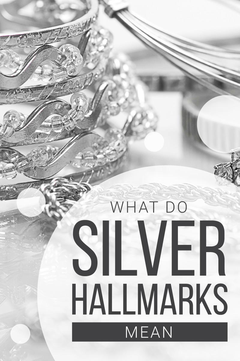 What do silver hallmarks mean