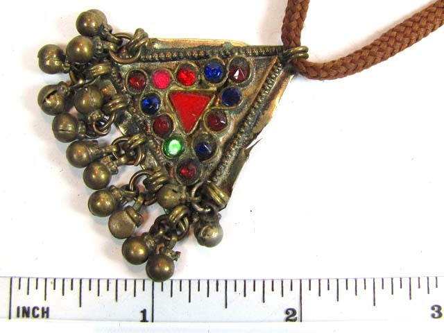 TRADITIONAL TIBETAN SILVER NECKLACE 65  CTS TR 839