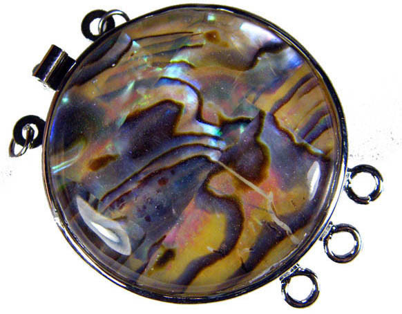 ABALONE SHELL PENDANT/BRACELET/BEAD 66.6 CTS [AS32]