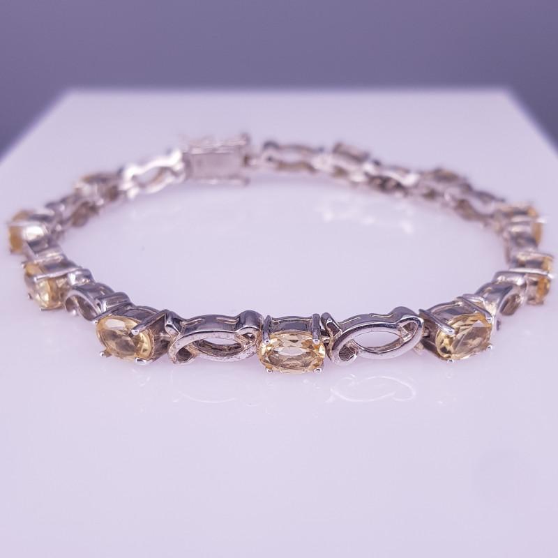 Natural Citrine Bracelet