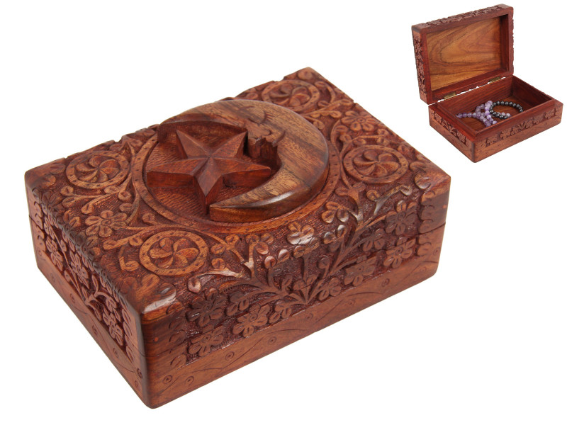 Moom & Star  Jewellery Box  code C- BOXSTM