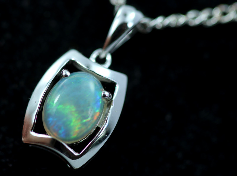 Cute Stylish Crystal Opal Pendant CCC 3089