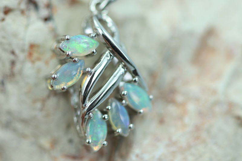 Cute Stylish Crystal Opal Pendant CCC 3100