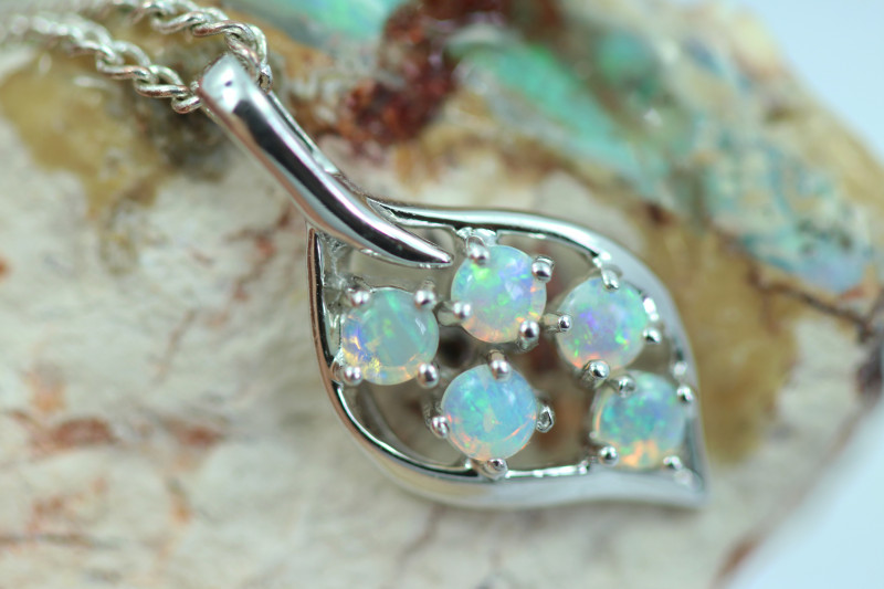 Cute Stylish Crystal Opal Pendant CCC 3105