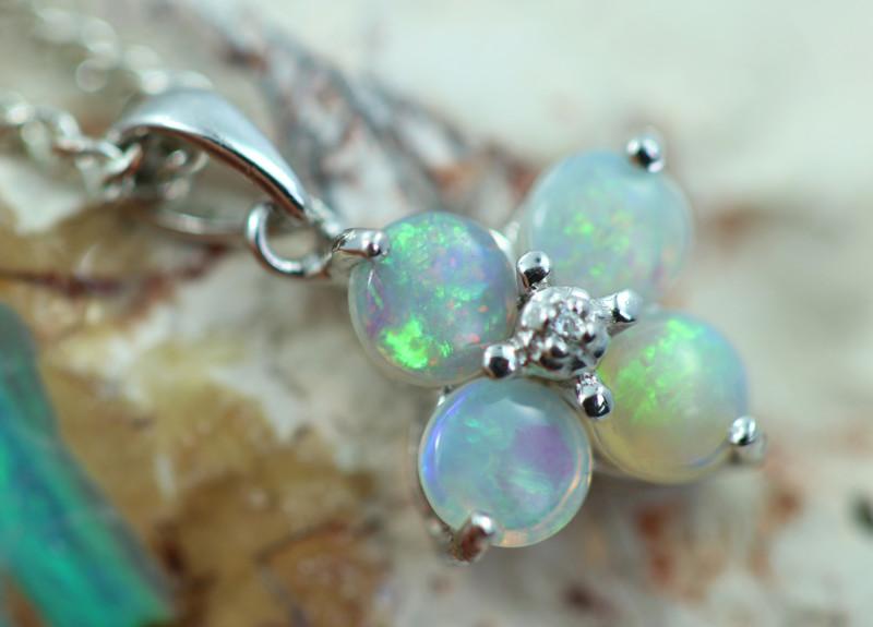 Cute Stylish Crystal Opal Pendant CCC 3110