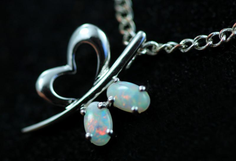 Cute Stylish Crystal Opal Pendant CCC 3113
