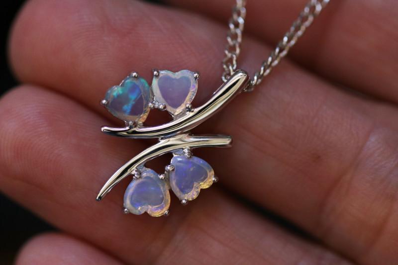 Cute Stylish Crystal Opal Pendant CCC 3152
