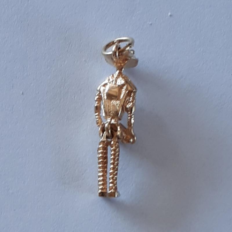 9K Gold Charm    Spaceman   Code 1910034