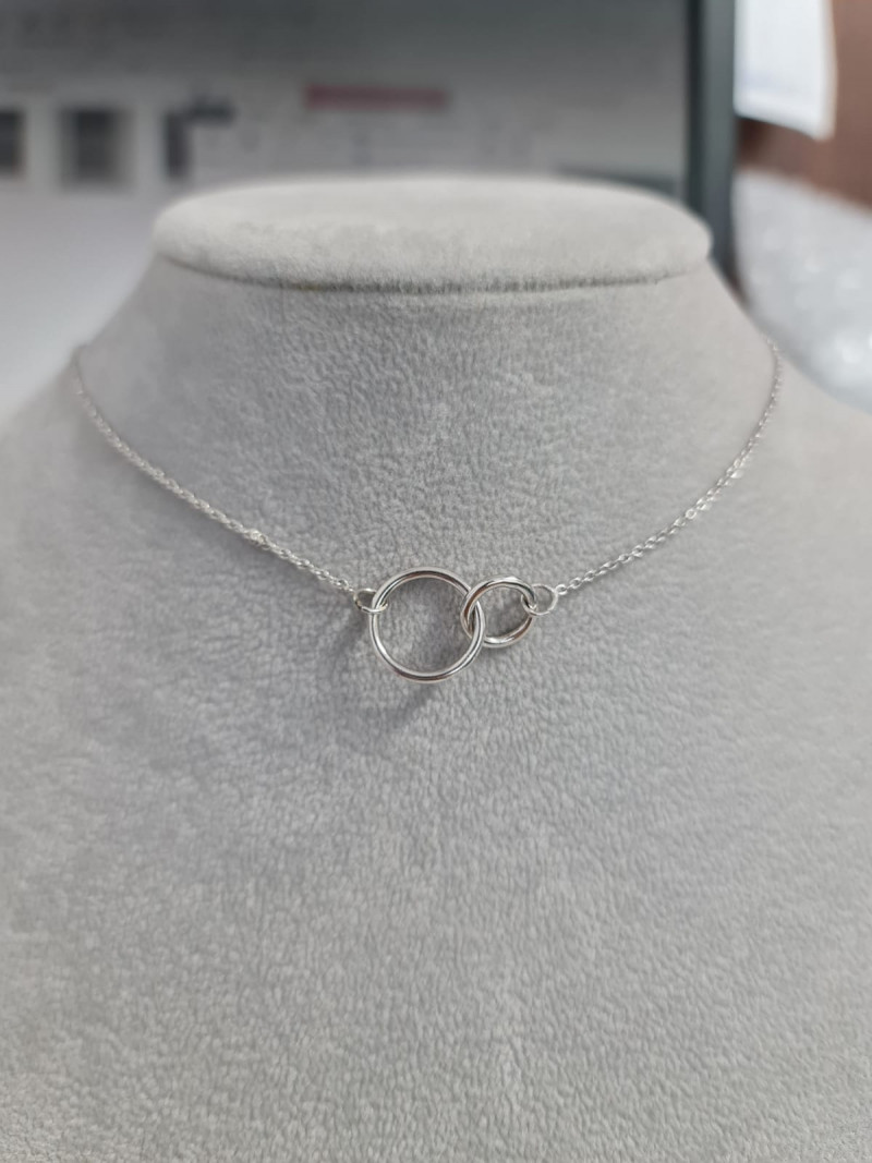 Stylish Charming  Silver Necklace