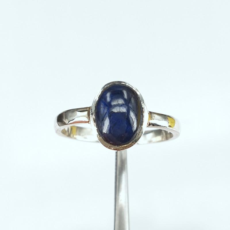 Handmade Natural Sapphire Cab Ring