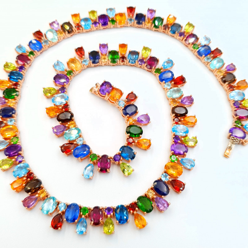 Natural Mix Stones Necklace
