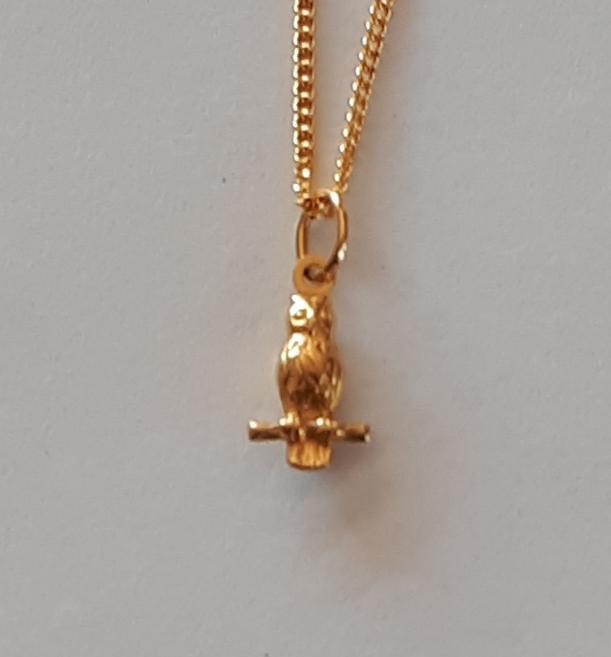 OWL 9K Gold Pendant  Code  1910002_2