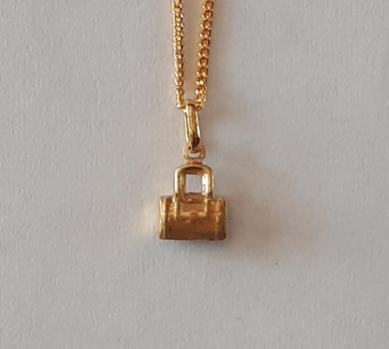 HAND BAG 9K Gold Pendant  Code 1910005_2