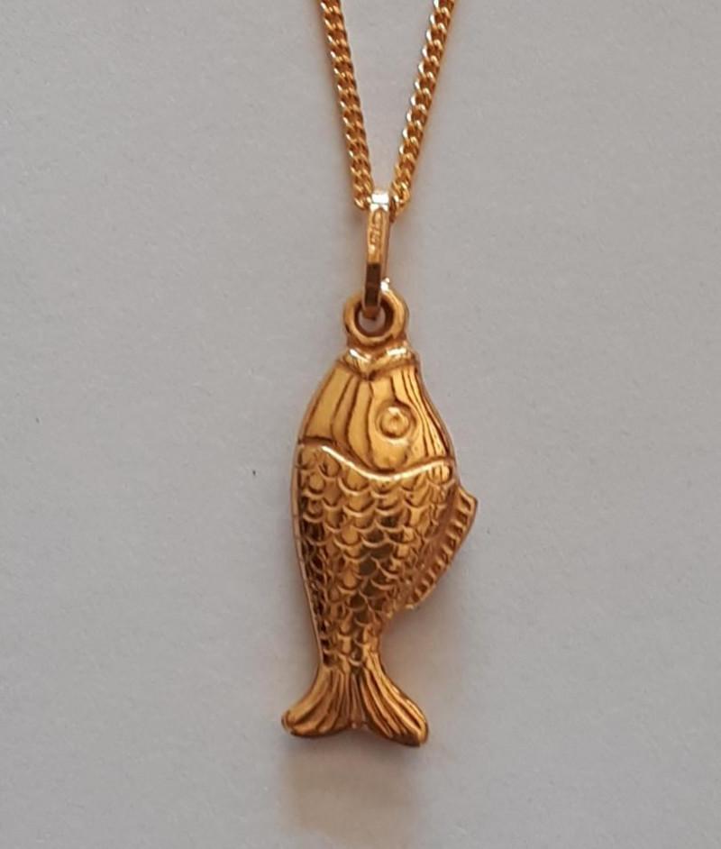 FISH 9K Gold Pendant  Code 1910015_2